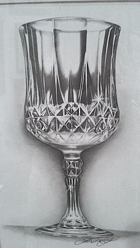 How to draw a crystal goblet, by Lee Hammond. ^ch #drawing ...