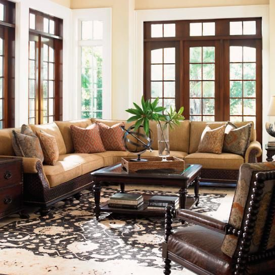 Island Traditions Rust Living Room By Tommy Bahama