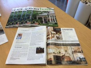 "Our Homes Magazine Fall - Oakville, Burlington and Milton - Under ""Source it"" section"