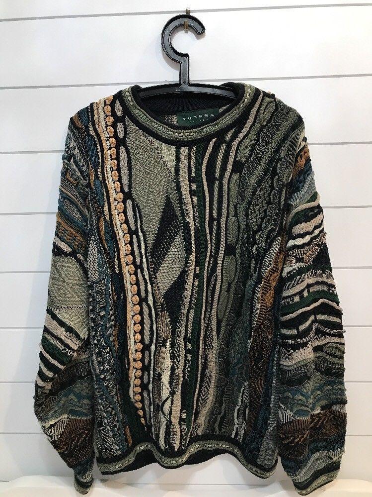 TUNDRA Canada Men's Size Large Sweater Tundra Sweater