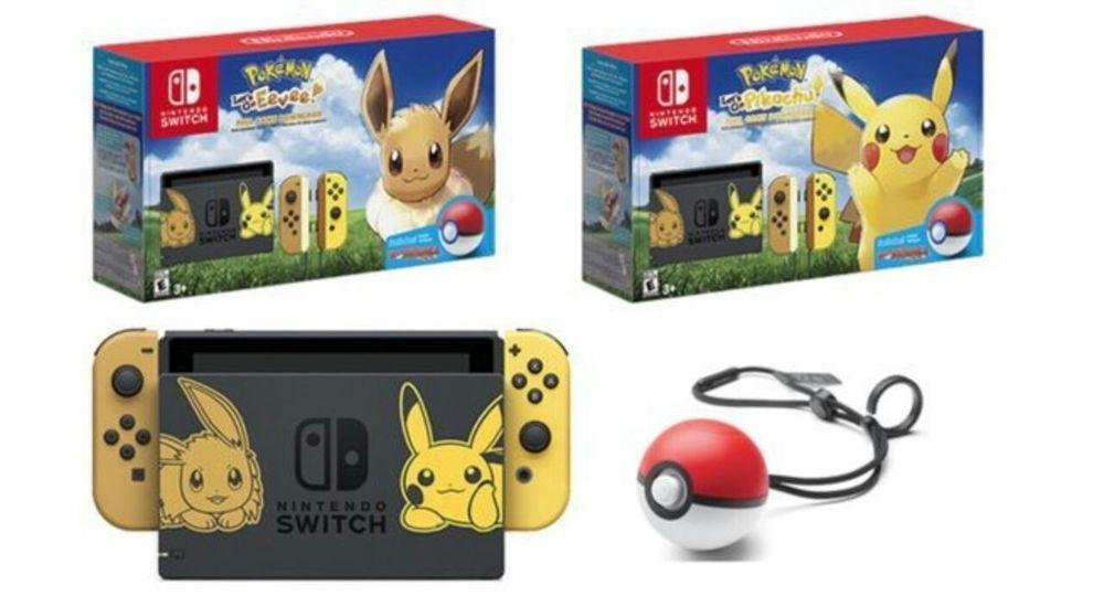 Nintendo Switch Pikachu Edition With Pokemon Let S Go Pikachu Bundle Get It Now Nintendo Buy Nintendo Switch Pikachu Eevee Edition With Pokemon Let S Go Pi