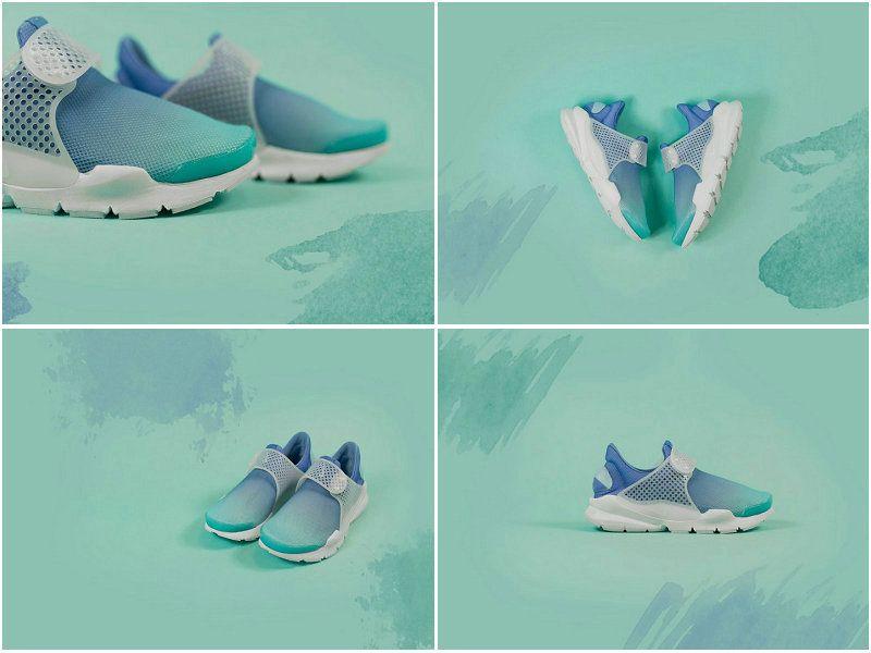 19e89a7af19e UK Trainers NIKE SOCK DART BREATHE Still Blue Polarized Blue Glacier Blue  White 896446 400 Save. Nike SocksFashion Shoes 2017Adidas ...