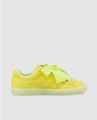 zapatillas de mujer puma con lazo