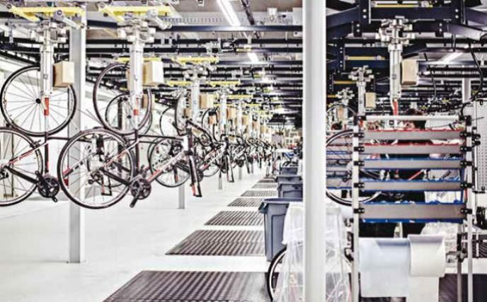 Bike Manufacturer Protects Its New Logistics Center With Axis
