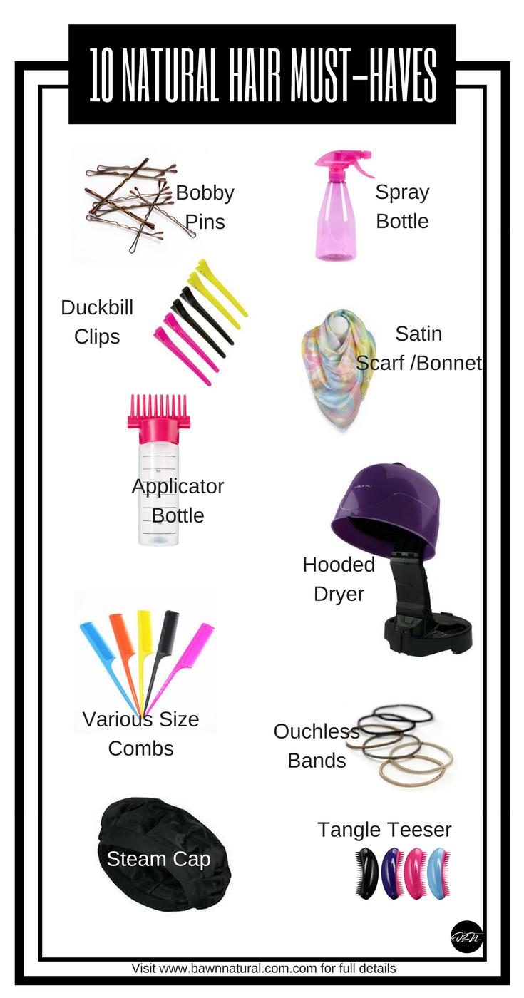 13 Must Have Natural Hair Tools To Start Natural Hair Styles Hair Tools Salon Hair Treatments