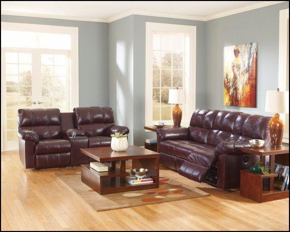 Superb Burgundy Leather Sofa Decorating Ideas