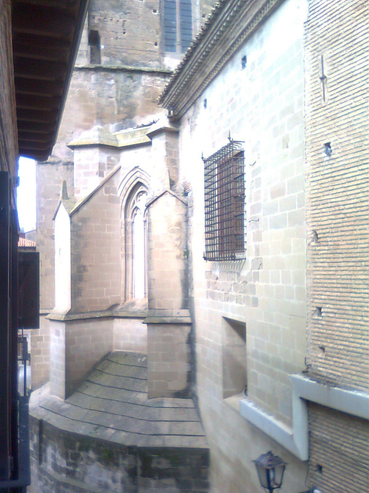 Calle Palacio, parte lateral de la Catedral.