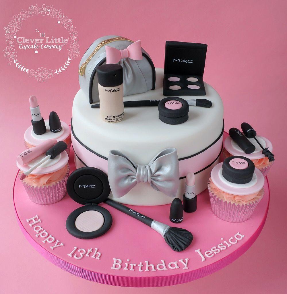 mac makeup cake design MAC makeup cake #makeupcaking MAC makeup cake  Teenie
