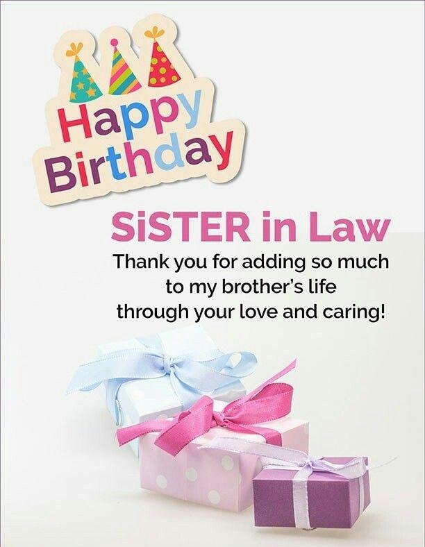 Happybirthdaytoall Com Happy Birthday Sister In Law Birthday