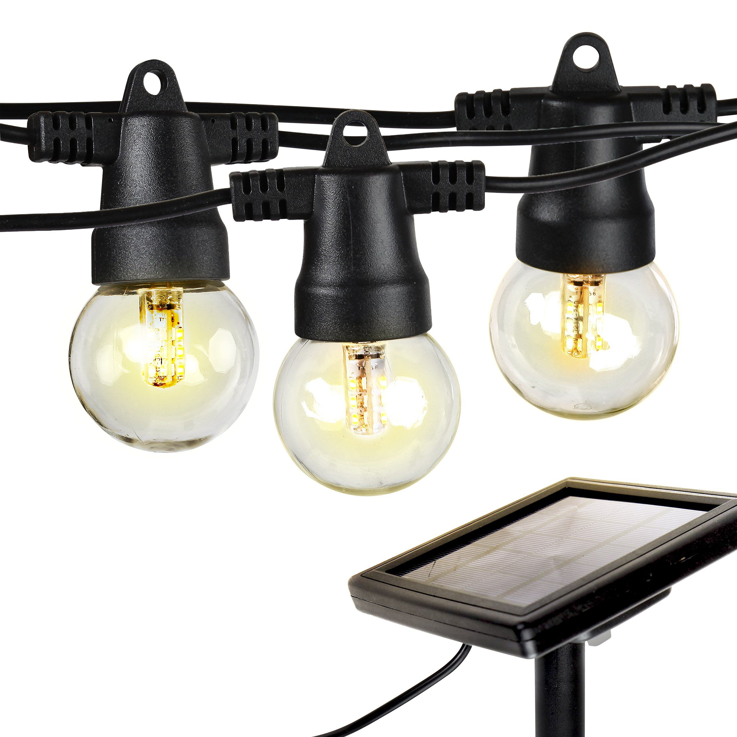 brightech ambience pro solar powered led string lights commercial