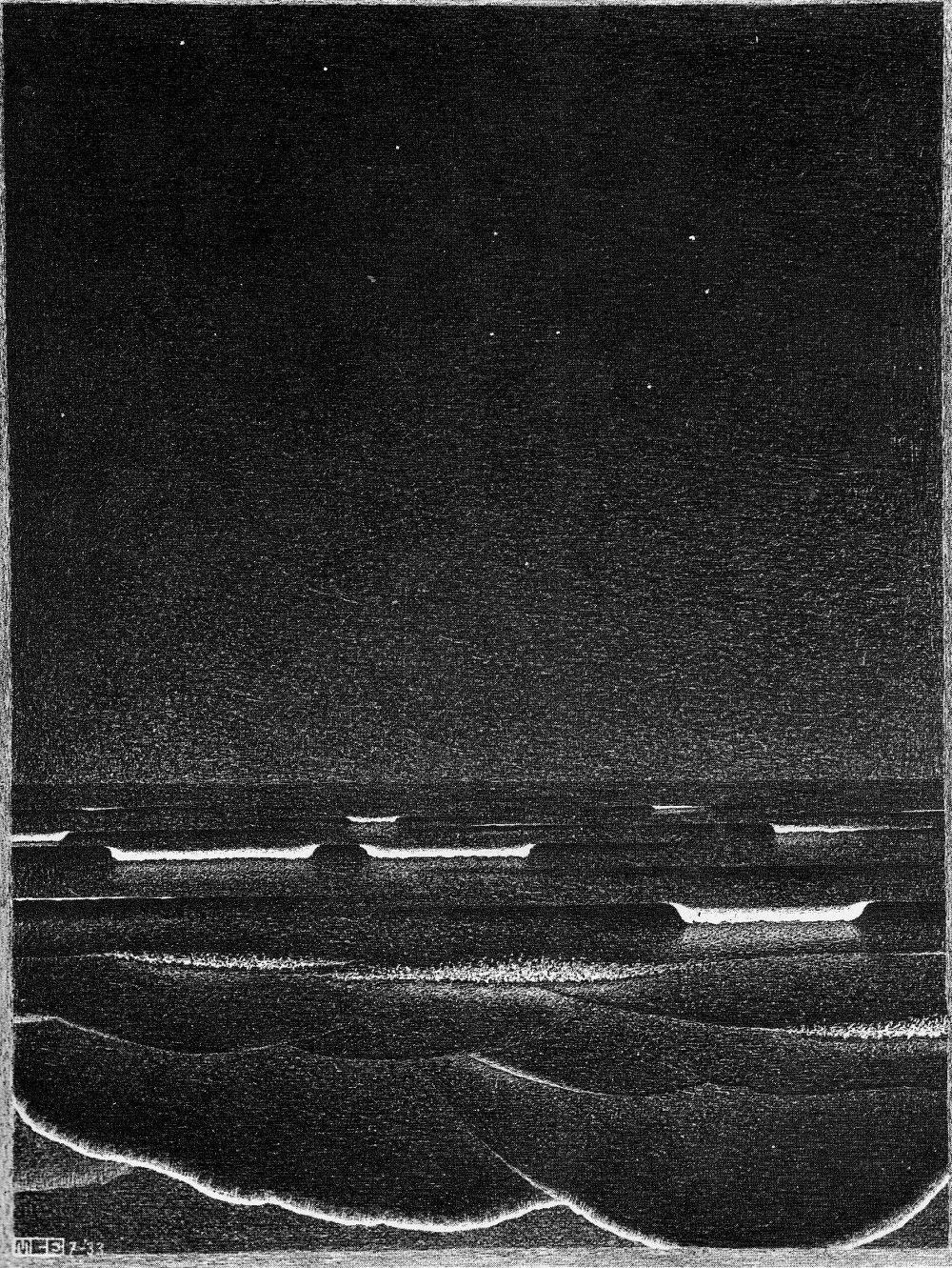escher phosphorescent sea - Cerca con Google
