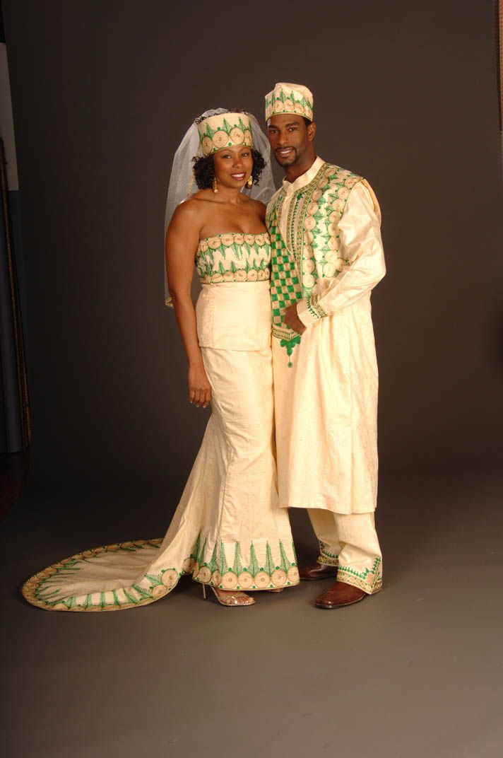 African Marriage Dress