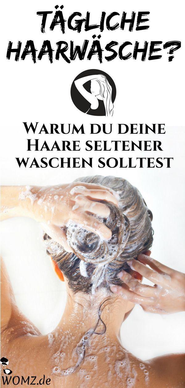 Wie Oft Sollte Man Sich Die Haare Waschen