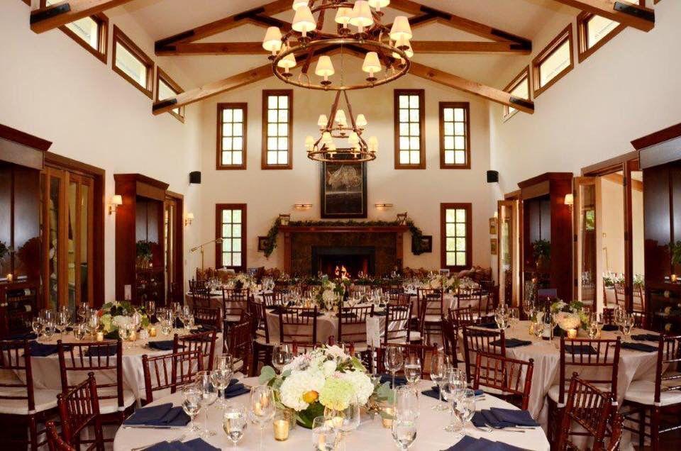 Winery Wedding Reception Deloach Vineyards