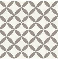 Carreaux de ciment forme g om trique grise 20x20 cm gris for Moquette grise texture