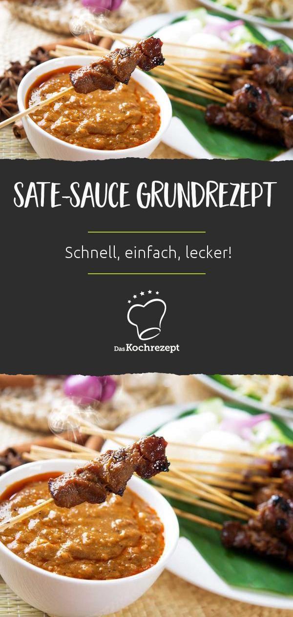 Sate-Sauce (Grundrezept)