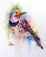 Elizabeth Tyler Watercolor Art Google Search Watercolor Bird
