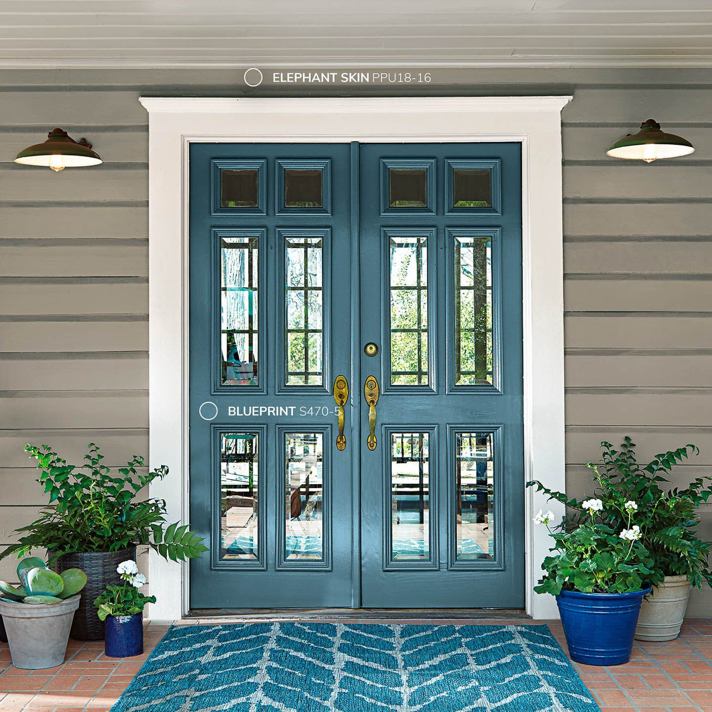 Sneak preview of the new 2019 paint color trends home - Preview exterior house paint colors ...