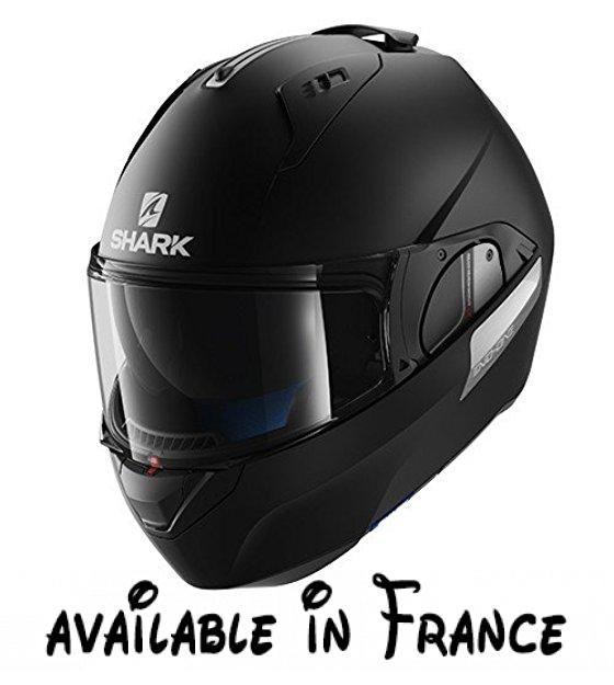 Shark Casque Moto Evo One Blank Mat Kma Noir Taille M Matière