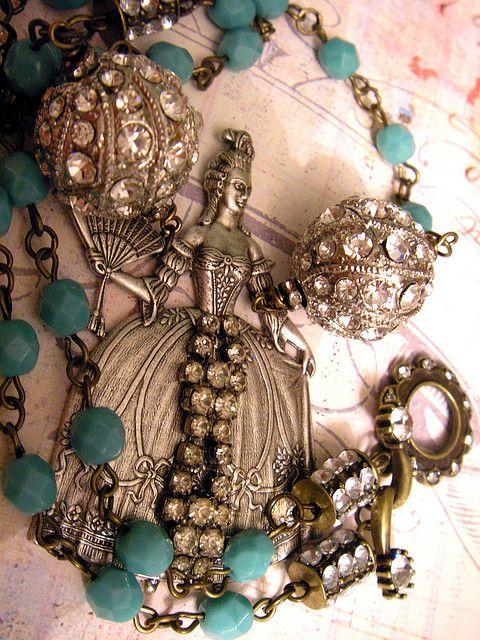 Baroque Waltz Necklace