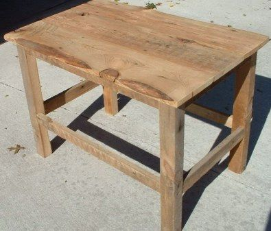 Make Old Barn Wood Furniture   Barn wood projects, Old ...