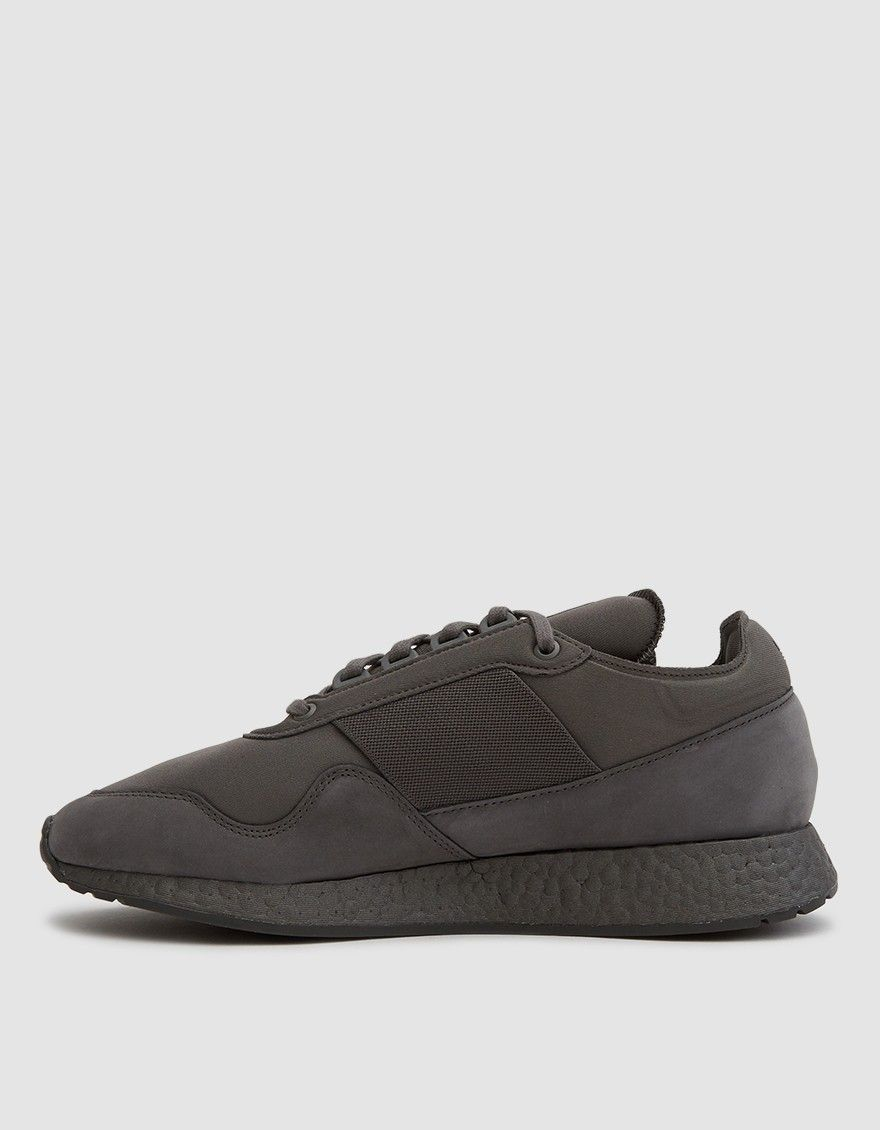 super popular b2dad f57a0 Redesigned retro sneaker from Adidas in collaboration with artist Daniel  Arsham in Trace Grey