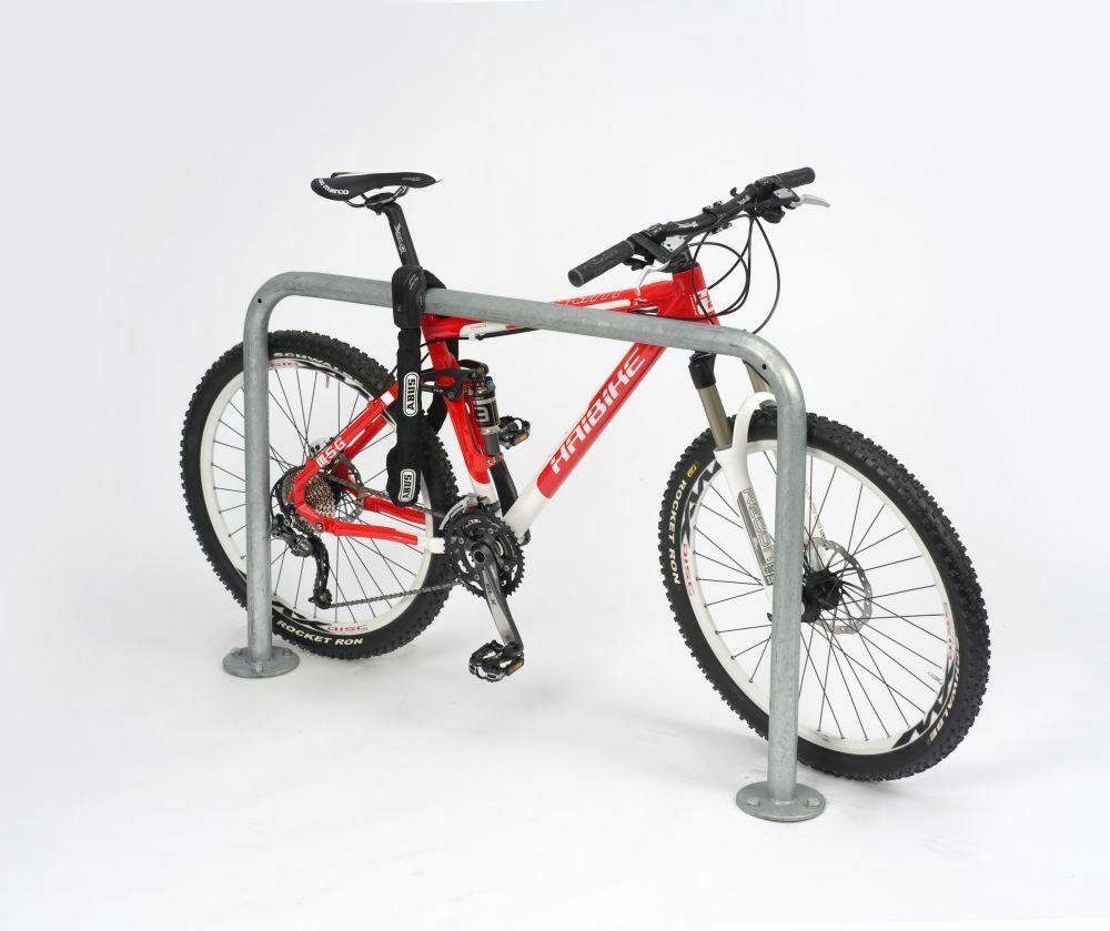 Fahrradständer Edelstahl 9100 Anlehnbügel Bügel für