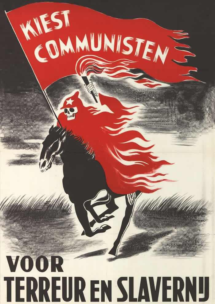 Elect Communists for the terror and slavery, The Netherlands (1952)