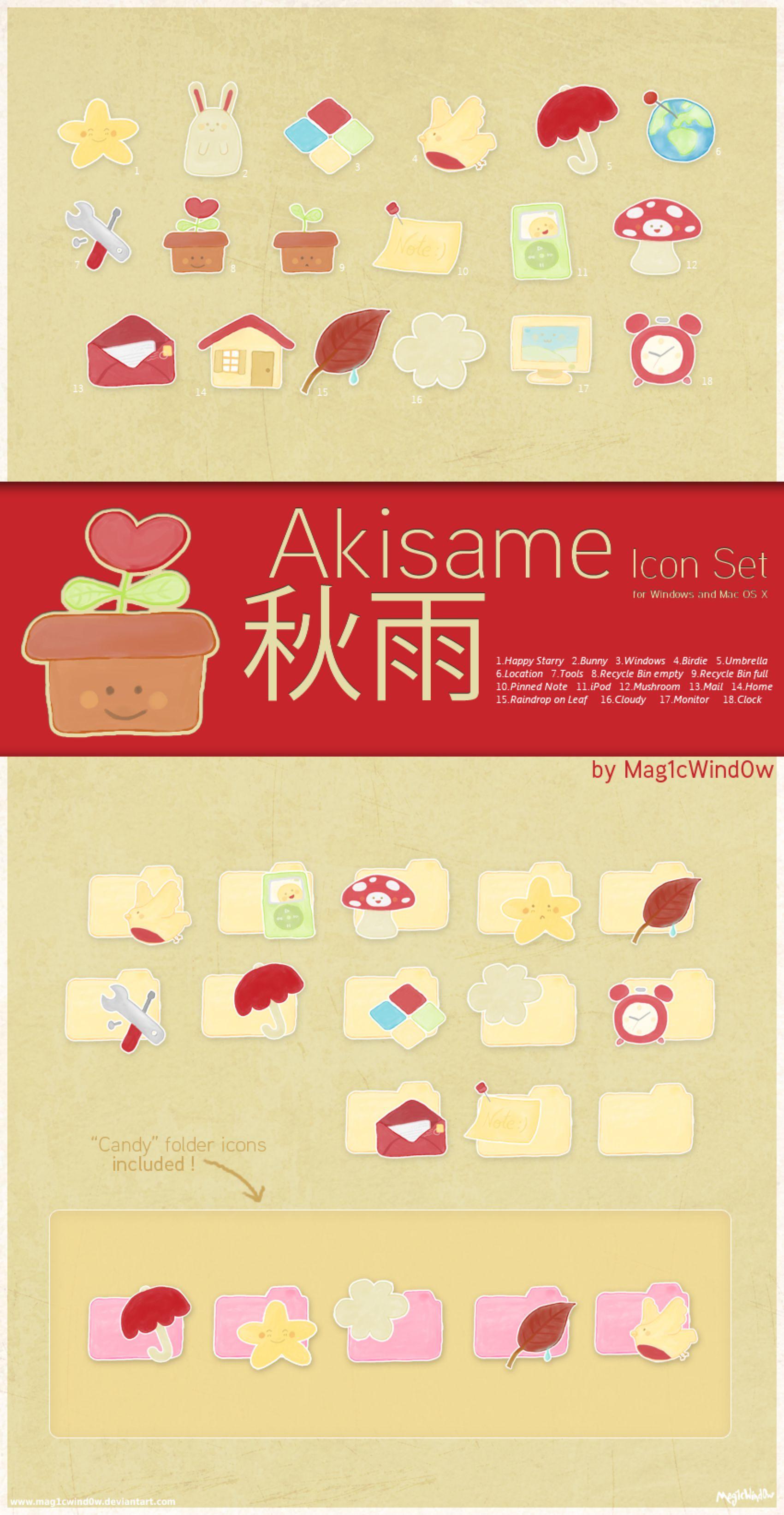 Akisame Icon Set by Cappippuni on @DeviantArt | D