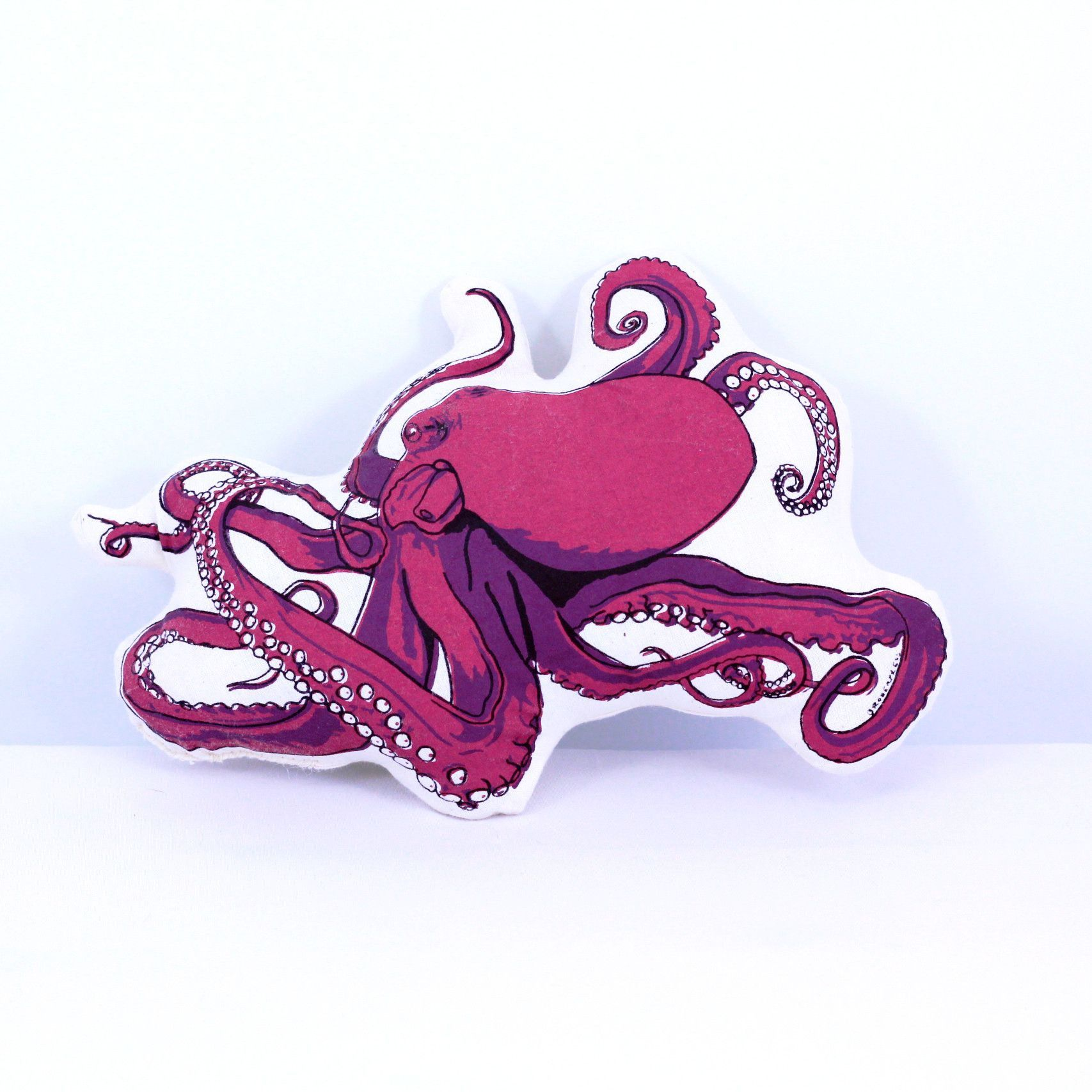 Plush Octopus Pillow & Toy