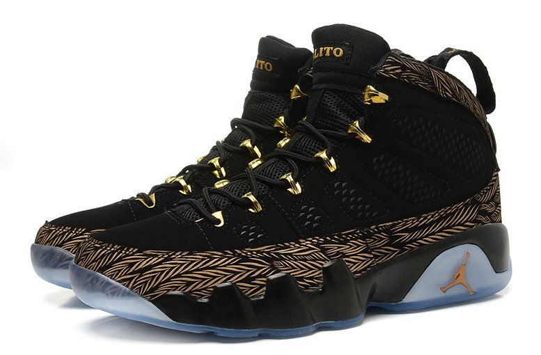 brand new 5fbcd f737c How To Buy Air Jordan 9 DOERNBECHER Black Gold Silver