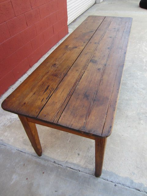 English Antique Harvest Table Pine Table Antique Primitive Furniture - English Antique Harvest Table Pine Table Antique Primitive Furniture