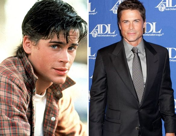The Outsiders Then Now Rob Lowe The Outsiders Cast