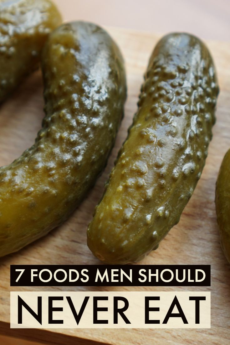 7 Worst Foods for Men Healthy eating recipes, Healthy