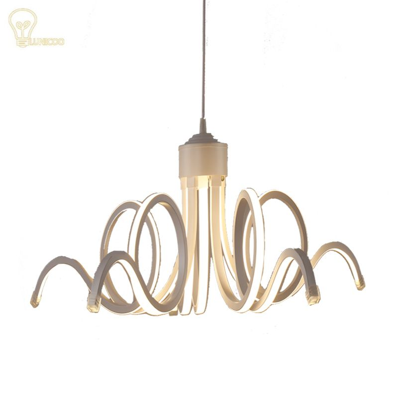 NOOSION 2017 New Style LED Modern Creative Pendant Lights For High - lamparas de techo modernas