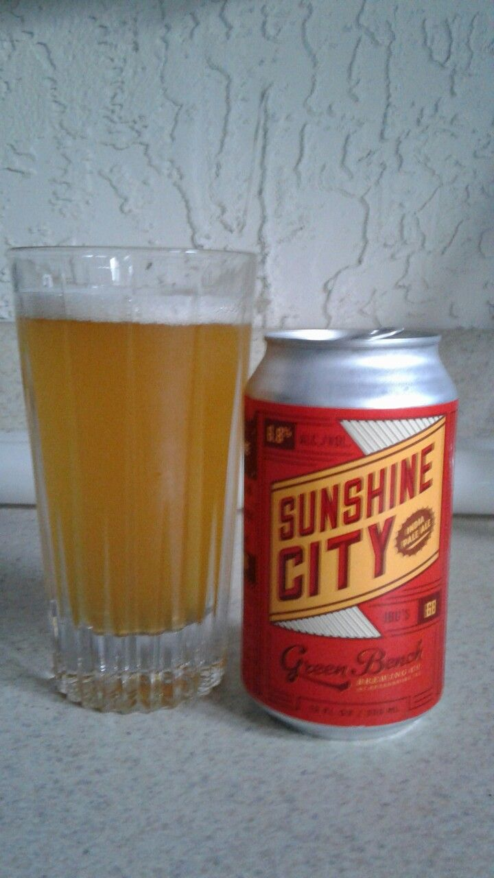 Awe Inspiring Sunshine City Ipa From Green Bench Brewing Co St Pabps2019 Chair Design Images Pabps2019Com