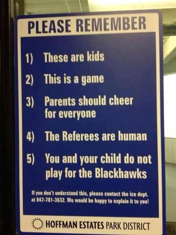 The Last One Is The Best But Hey Ya Never Know Some Of Those Kids Might One Day Hockey Humor Youth Hockey Hockey