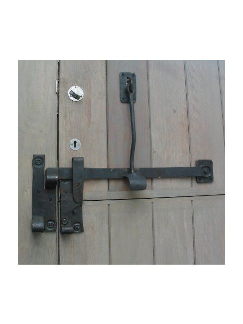 stable door latch - both leaves locked together as one | El ...