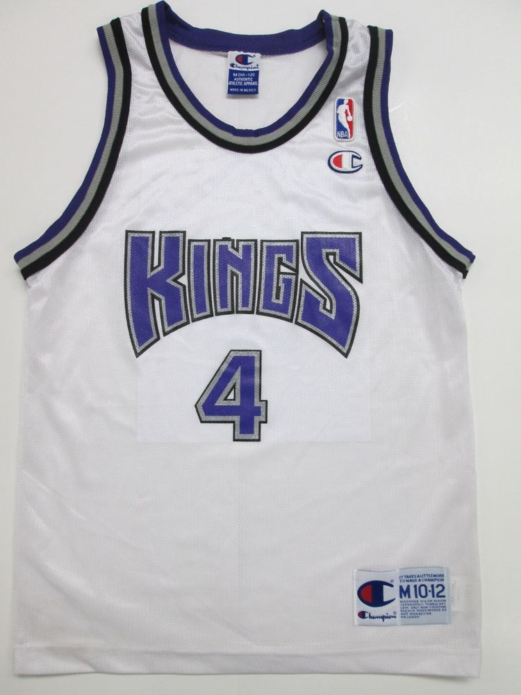 dbaa9fcaeb17 NBA Sacramento Kings Chris Webber  4 Jersey VINTAGE by Champion. Youth M   Champion  SacramentoKings