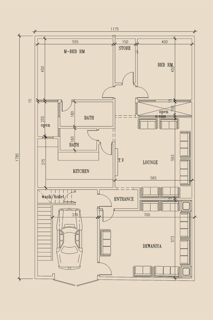 8 Marla House Plans