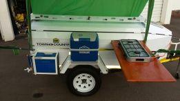 Karet camp trailer   bush trailers   Pinterest   Camping on