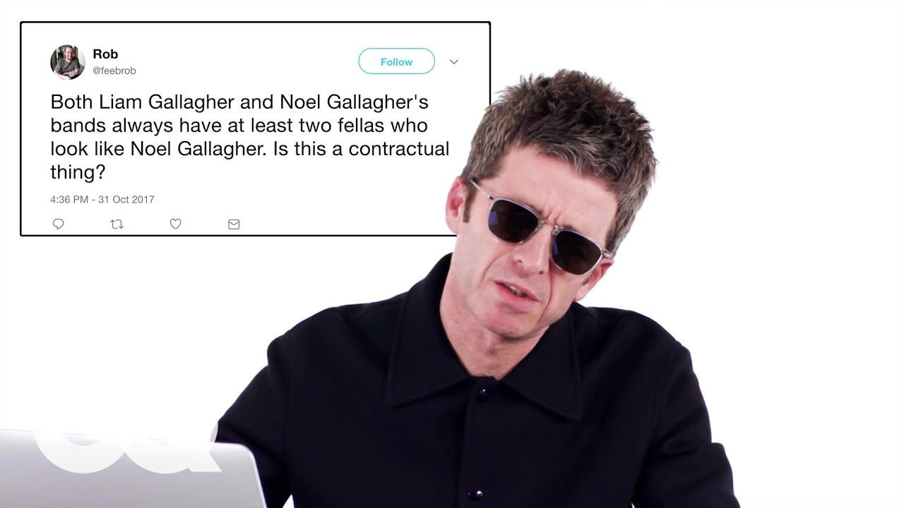 Liam Gallagher Wears on Twitter: