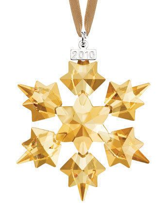 2010 Swarovski SCS Annual Edition Members Only Ornament - 2010 Swarovski SCS Annual Edition Members Only Ornament Crystal