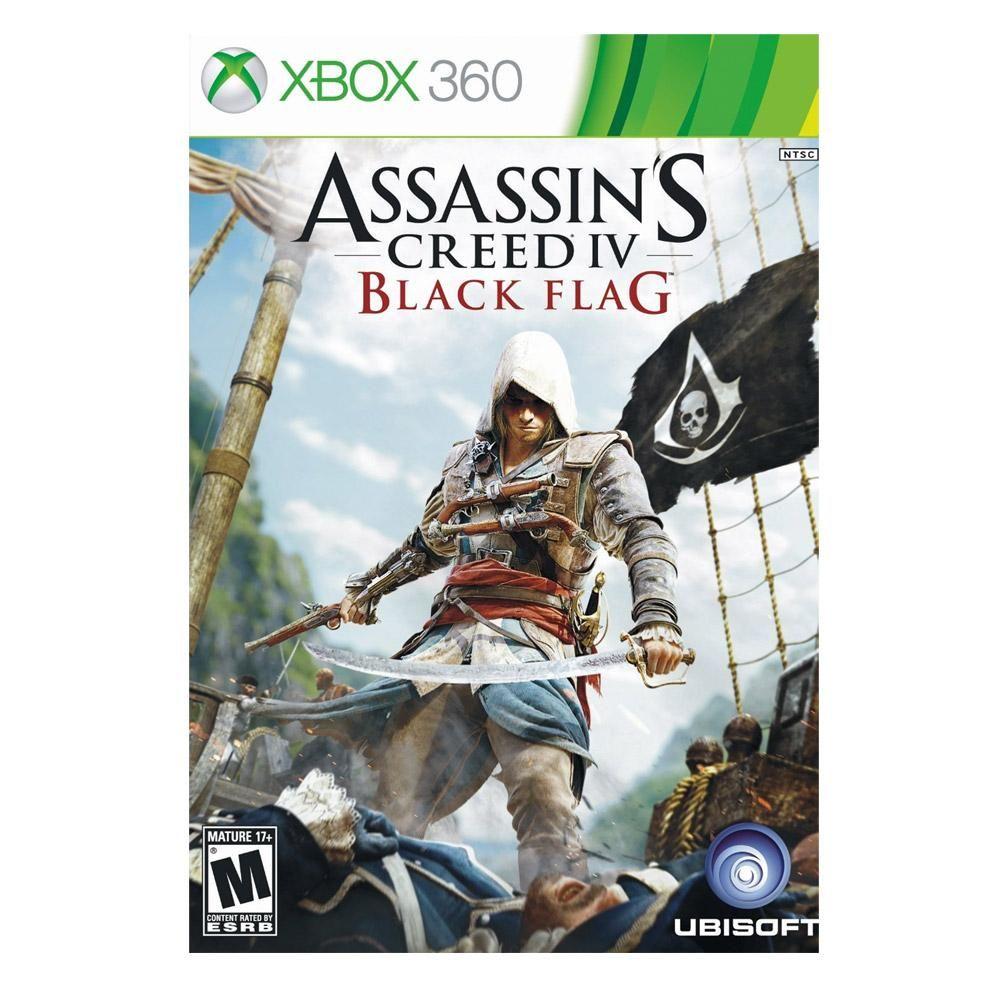 Assassin S Creed Iv Black Flag Xbox 360 Assassins Creed Black Flag Assassin S Creed Black Assassins Creed 4