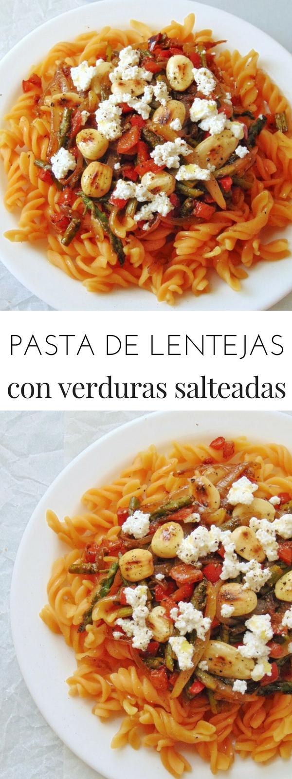 Pasta De Lentejas Con Verduras Y Almendras Receta De Tasty Details Receta Lentejas Con Verduras Lentejas Verduras Salteadas