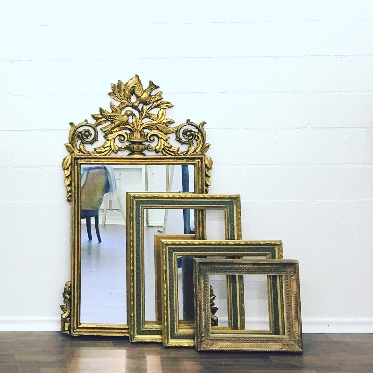 Antique Mirrors Frames