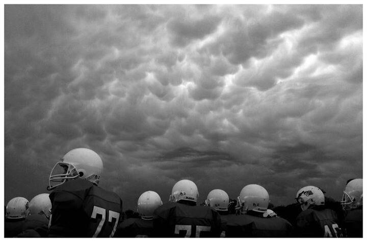 Rainy Game American Football Photography Wallpaper Night Photography