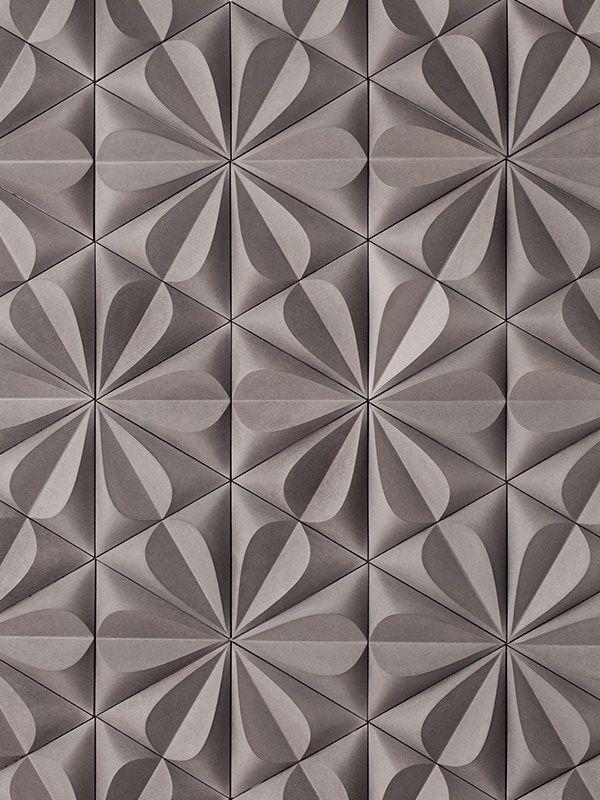 http://www.kazaconcrete.com/ # pattern texture brown Embossed/Debossed triangle geometry