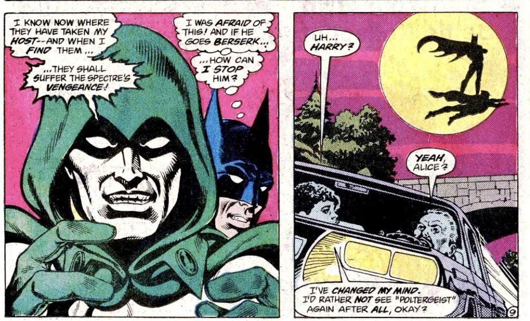 Comic Excerpt Brave And The Bold 199 Batman Just Casually