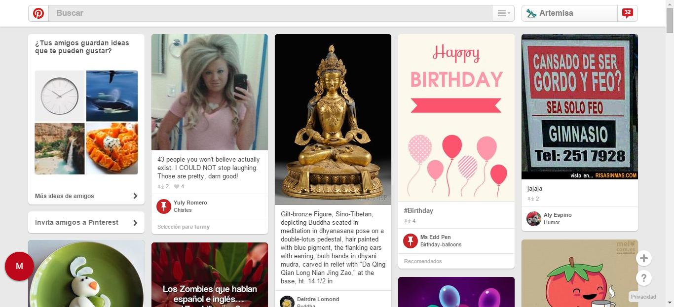 (32) Pinterest: descubre y guarda ideas creativas
